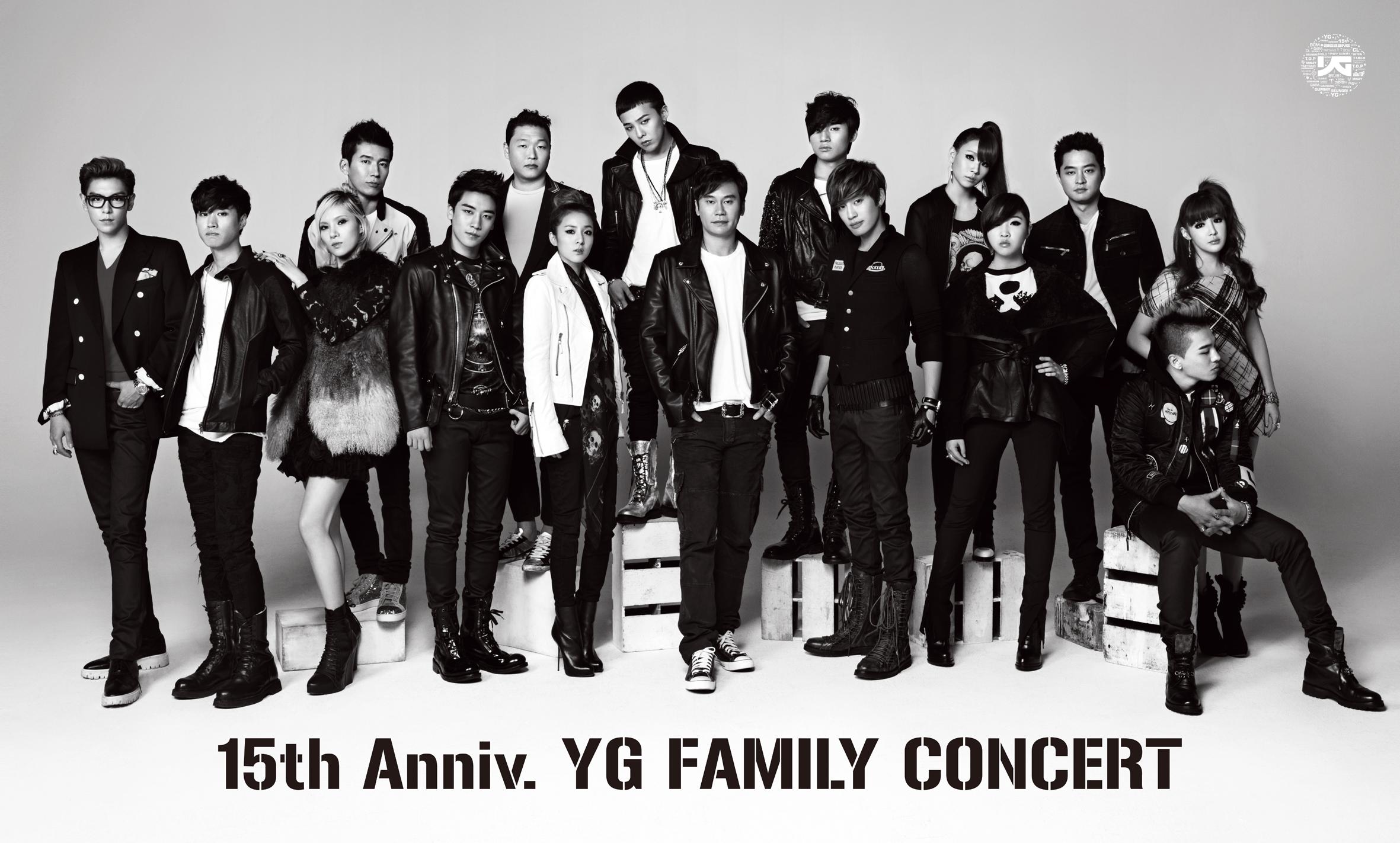 Bigbang Yg Family